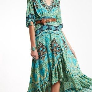 Spell & Gypsy Wrap Aloha Fox Dress